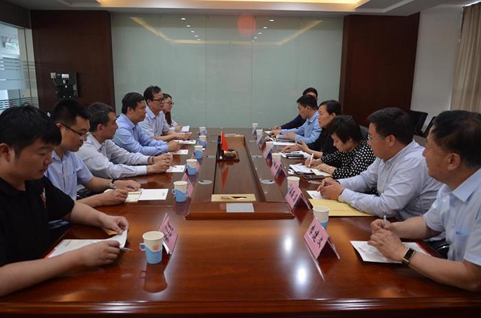 山东省地方金融监督管理局领导莅临集团视察调研